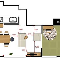 画像 家具の配置アドバイス!ダイニングテーブルとテレビの位置が変えることができれば… の記事より 3つ目