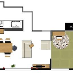 画像 家具の配置アドバイス!ダイニングテーブルとテレビの位置が変えることができれば… の記事より 2つ目