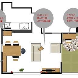 画像 家具の配置アドバイス!ダイニングテーブルとテレビの位置が変えることができれば… の記事より 4つ目