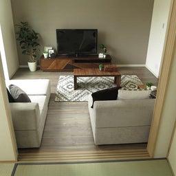 画像 家具の配置アドバイス!ダイニングテーブルとテレビの位置が変えることができれば… の記事より 8つ目