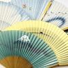 紳士用扇子2020・6種|お求めやすい価格帯の京扇子|父の日ギフトにもお勧め。富士山、抽象柄、楓の画像