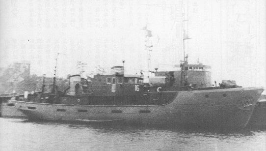 海軍艦艇つれづれ大阪市西区・サノヤス造船にて 漁業取締船「照洋丸」と掃海特務艇建造の歴史