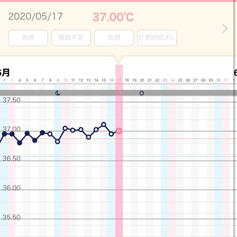18日目 高温期