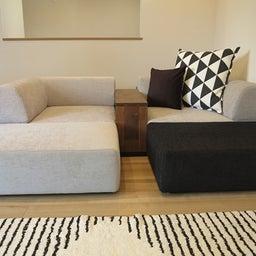 画像 家具の配置アドバイス!映画鑑賞が好きな方へ家具の配置提案!「島型」ソファをおすすめしました。 の記事より 14つ目