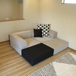 画像 家具の配置アドバイス!映画鑑賞が好きな方へ家具の配置提案!「島型」ソファをおすすめしました。 の記事より 15つ目