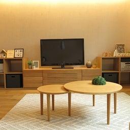 画像 家具の配置アドバイス!映画鑑賞が好きな方へ家具の配置提案!「島型」ソファをおすすめしました。 の記事より 5つ目