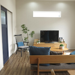 画像 家具の配置アドバイス!映画鑑賞が好きな方へ家具の配置提案!「島型」ソファをおすすめしました。 の記事より 7つ目