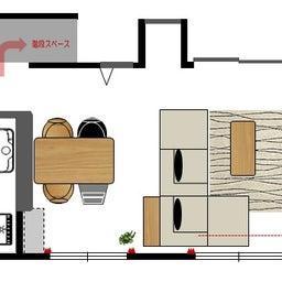 画像 家具の配置アドバイス!映画鑑賞が好きな方へ家具の配置提案!「島型」ソファをおすすめしました。 の記事より 16つ目