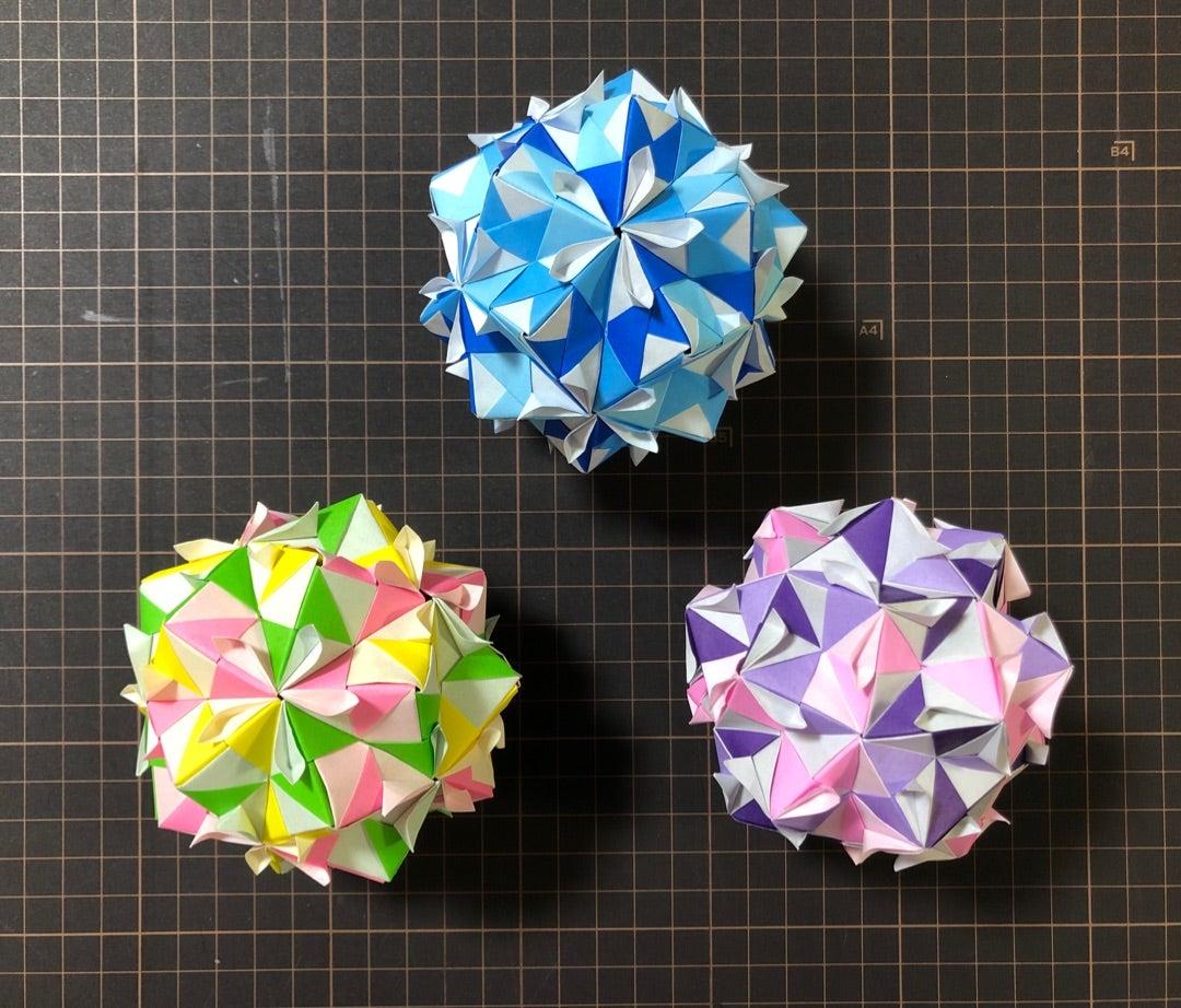 くす玉 不要 折り紙 のり 折り紙の花のくす玉の折り方!七夕飾りに60枚の作り方を紹介