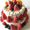 誕生日ケーキを作ってみた!の画像