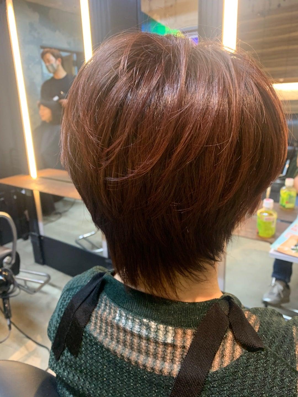 硬い髪質のショートのポイント