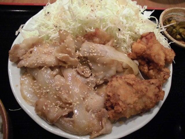 生姜焼き&唐揚げ2