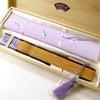 扇子セット2020・3種|婦人用絹張短地7寸、カラー、桜|各種贈答、海外ギフト、洋装にもお勧め。の画像