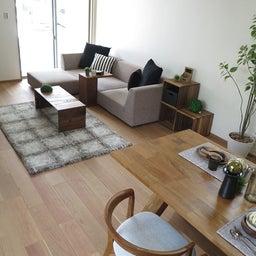 画像 リビングへ入る引戸の開き方で家具の配置が異なってきます。ソファ前が広くなり、ソファも大きくできる の記事より 14つ目