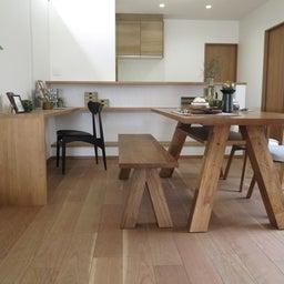 画像 リビングへ入る引戸の開き方で家具の配置が異なってきます。ソファ前が広くなり、ソファも大きくできる の記事より 3つ目