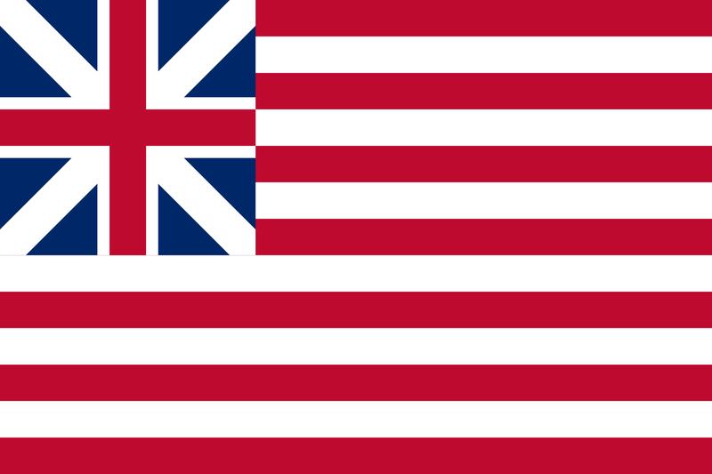 米国植民地旗