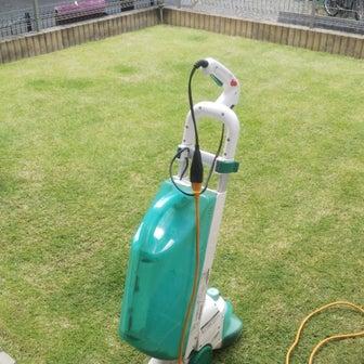 芝生の管理「今期3回目の芝刈り」