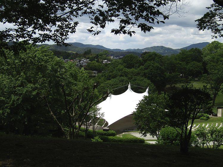 芸術の森 公園 笠間