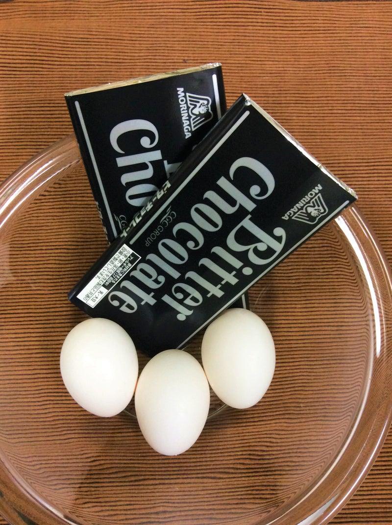 チョコレートと卵
