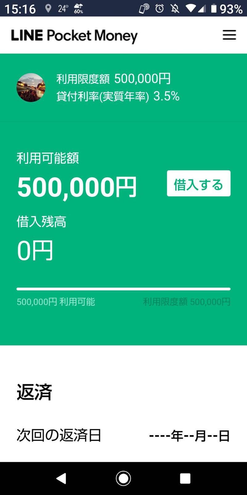 審査 マネー 時間 ポケット Line