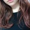 髪色の経過を追う。④の画像