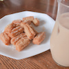 イケメンシェフのお料理の画像