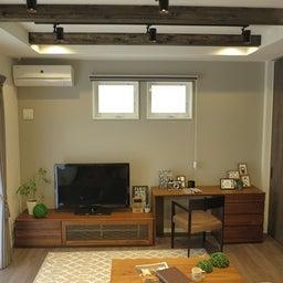 画像 広い壁面を活かした総幅3m以上の収納家具を提案!TVボードとデスクを同じデザインで提案できます の記事より 3つ目