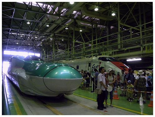 仙台総合車両セのイベント風景