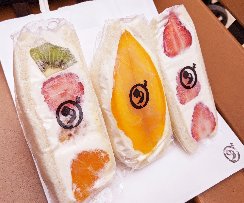 ダイワ 中 目黒 フルーツ サンド