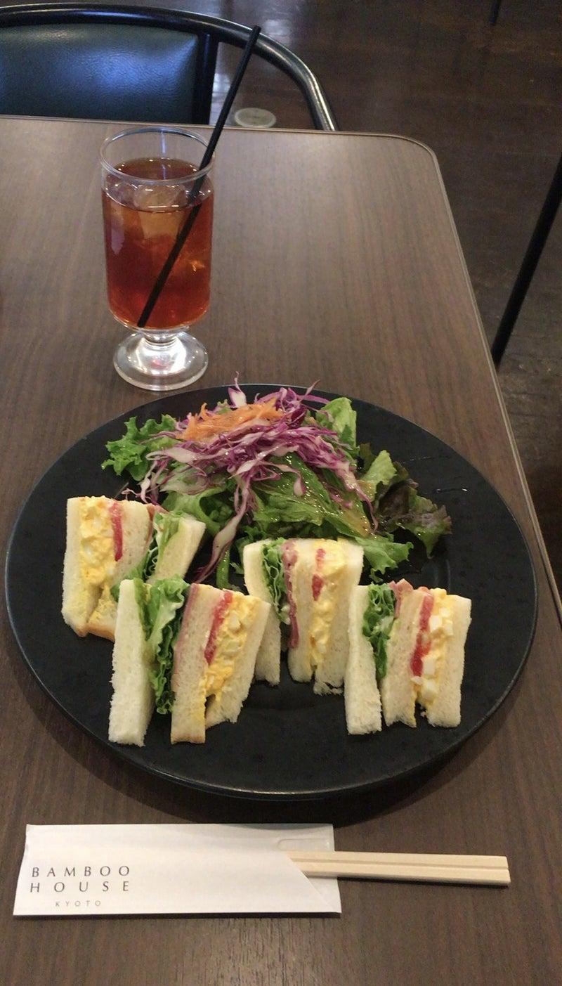 バンブーハウス サンドイッチ モーニング