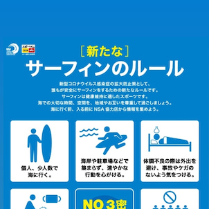 新たなサーフィンのルールの画像