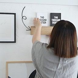 画像 ★無印「壁に付けれる家具」でコート・バックの一時置きに♪ の記事より 18つ目