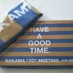 NAKAMA to MEETING_vol.2 オフィシャルグッズ届きました の話