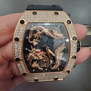 リシャールミル高級時計の画像