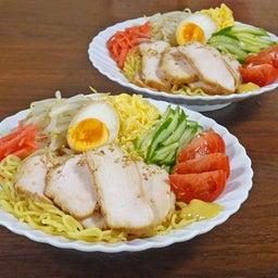 画像 焼豚とたっぷり野菜の胡麻ドレつゆかけ冷やし中華 の記事より 18つ目