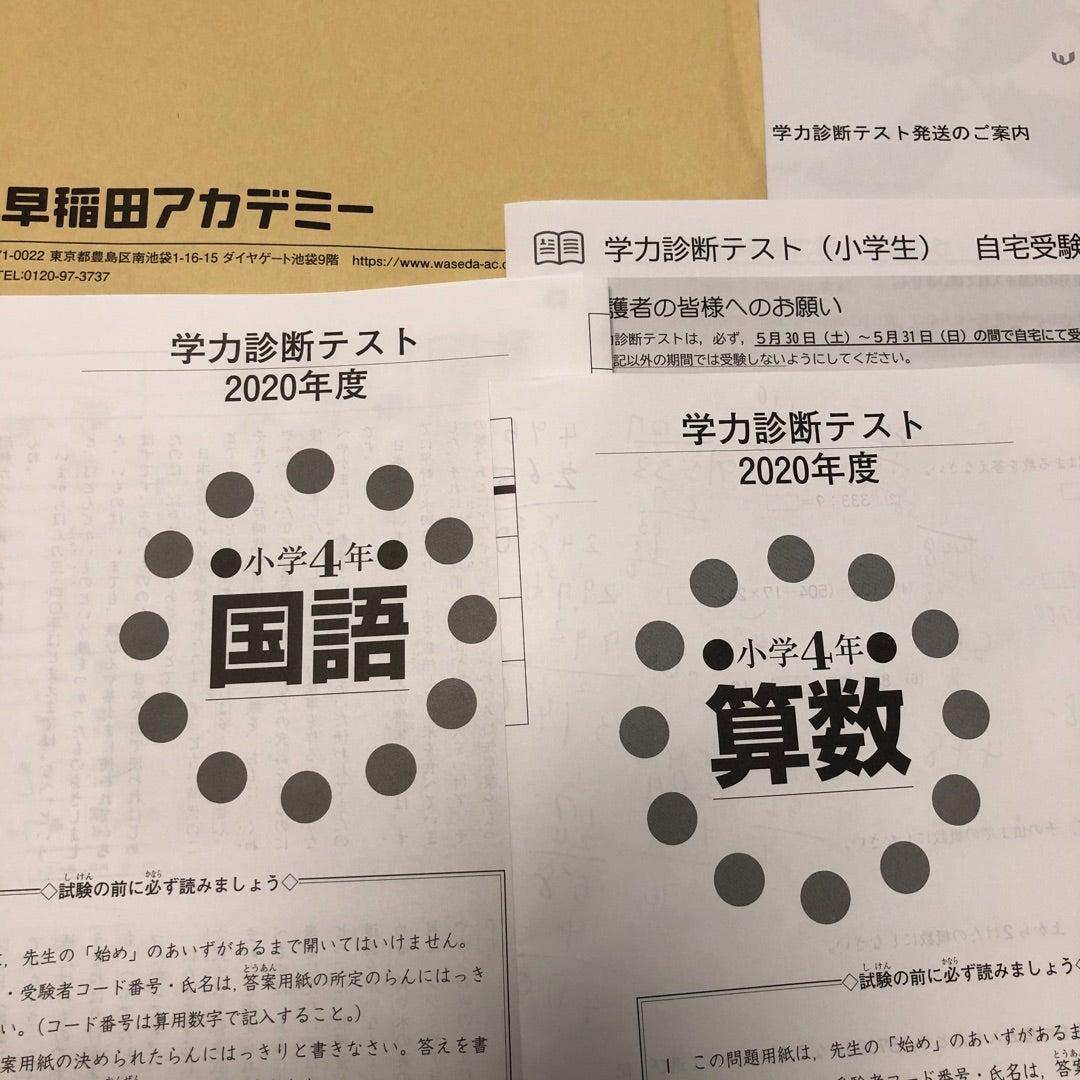 診断 早稲 テスト 学力 アカ