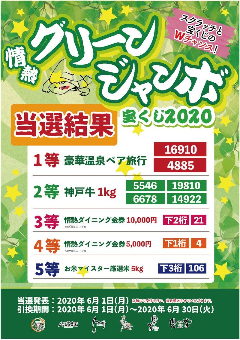 宝くじ 2020