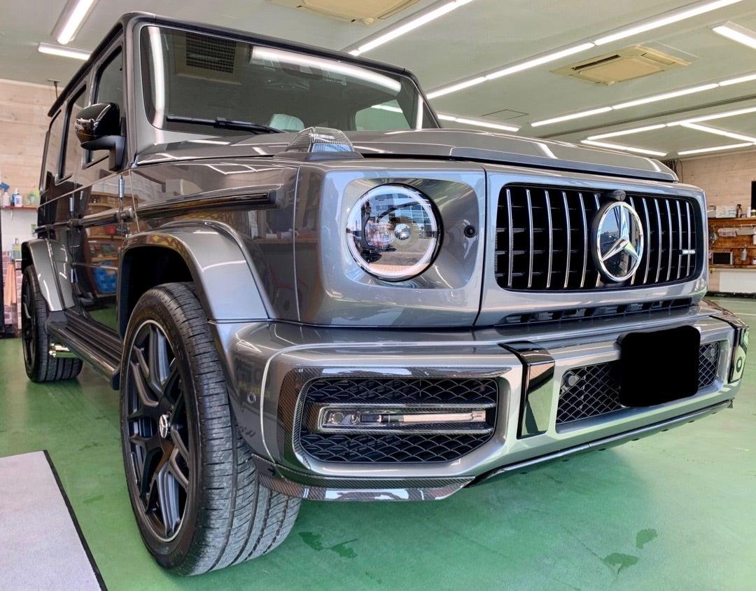 メルセデスベンツAMG G63 Edition1新車 ハイモースコート ザ・ネオ施工