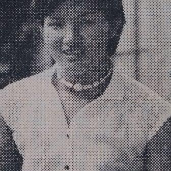 1977年夏の週刊誌に載ったナンシー