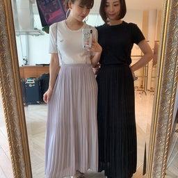 画像 調節できるプリーツスカート、妊婦さんでも着られるワンピ♡ の記事より 2つ目
