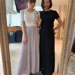 画像 調節できるプリーツスカート、妊婦さんでも着られるワンピ♡ の記事より 1つ目