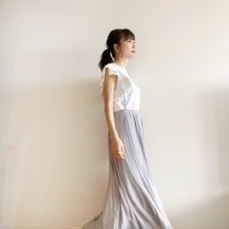 画像 調節できるプリーツスカート、妊婦さんでも着られるワンピ♡ の記事より 4つ目