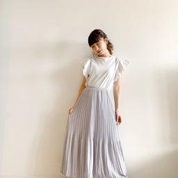 画像 調節できるプリーツスカート、妊婦さんでも着られるワンピ♡ の記事より 5つ目