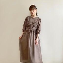 画像 調節できるプリーツスカート、妊婦さんでも着られるワンピ♡ の記事より 8つ目