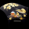 結婚式や祝宴などおめでたい席に、黒留袖、色留袖、訪問着にお勧めな礼装用のべっ甲鴛鴦(オシドリ)螺の画像