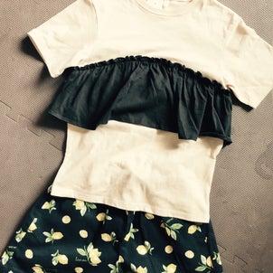 色違いも購入したGU子供服の画像