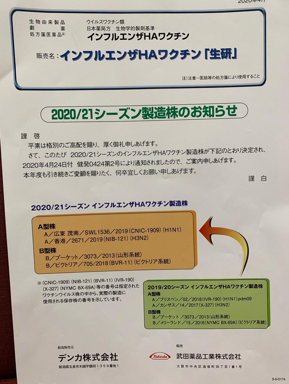 ロキソニン インフルエンザ 予防 接種