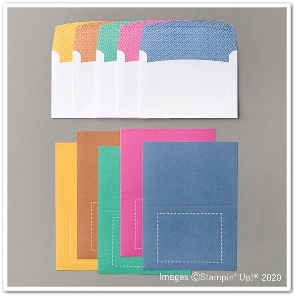 カードと封筒のセット