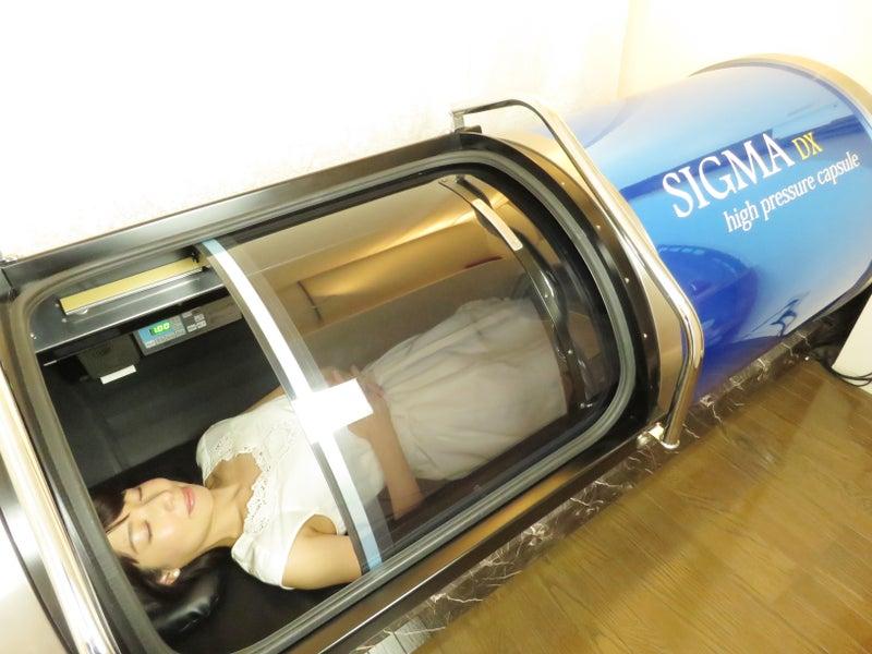 不眠に最適。高気圧酸素カプセル