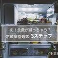 【冷蔵庫を片付けると食費が減る?!冷蔵庫整理の3つのステップ】